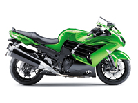 Kawasaki ZZR1400 2012 Onwards