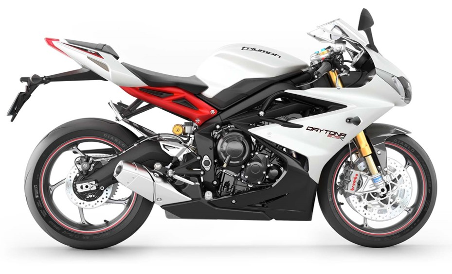 Triumph Street Triple 675 Daytona 2013 onwards