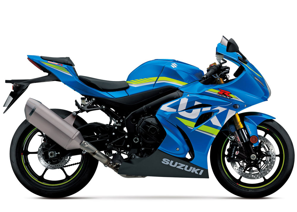 Suzuki GSXR 1000 2017 Onwards